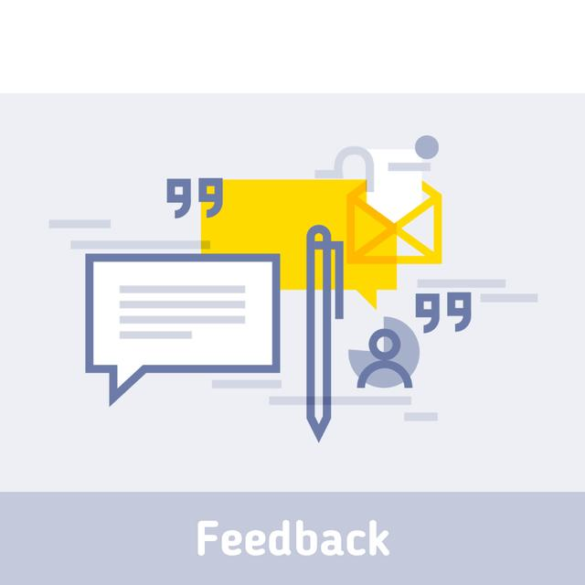 Business file icon Animated Post Tasarım Şablonu
