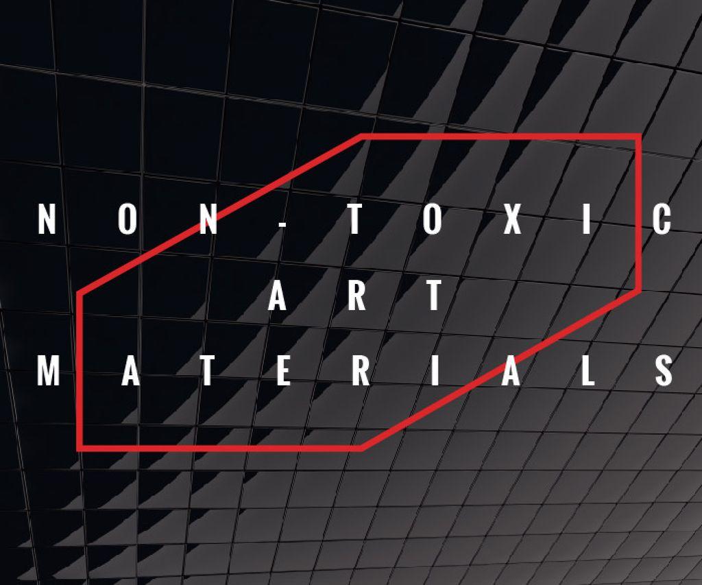 Non-toxic art materials — Créer un visuel