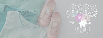 Baby Shower Kids Clothes in pastel colors