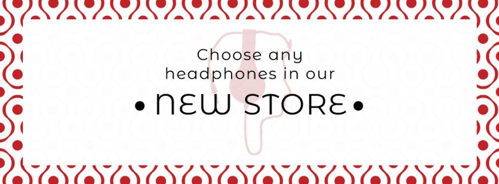 Gadgets Sale Man in Headphones — Створити дизайн