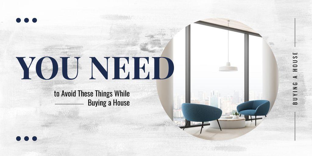 Designvorlage Cozy interior in light colors für Image