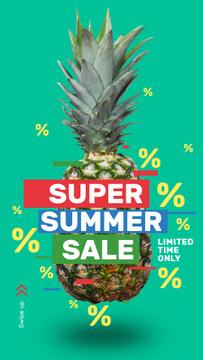 Summer Sale Raw Pineapple Fruit