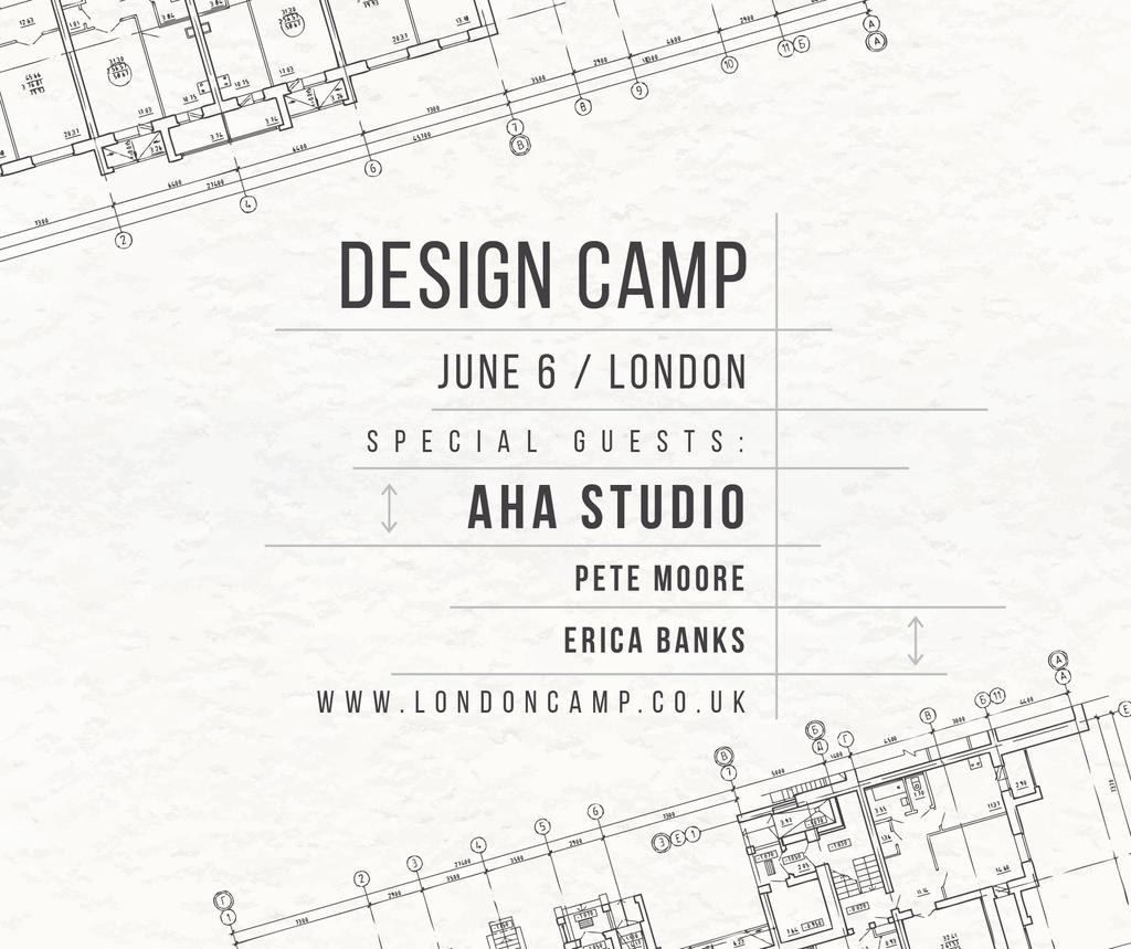 Design camp announcement on blueprint — Create a Design