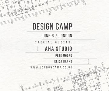 Design camp announcement on blueprint