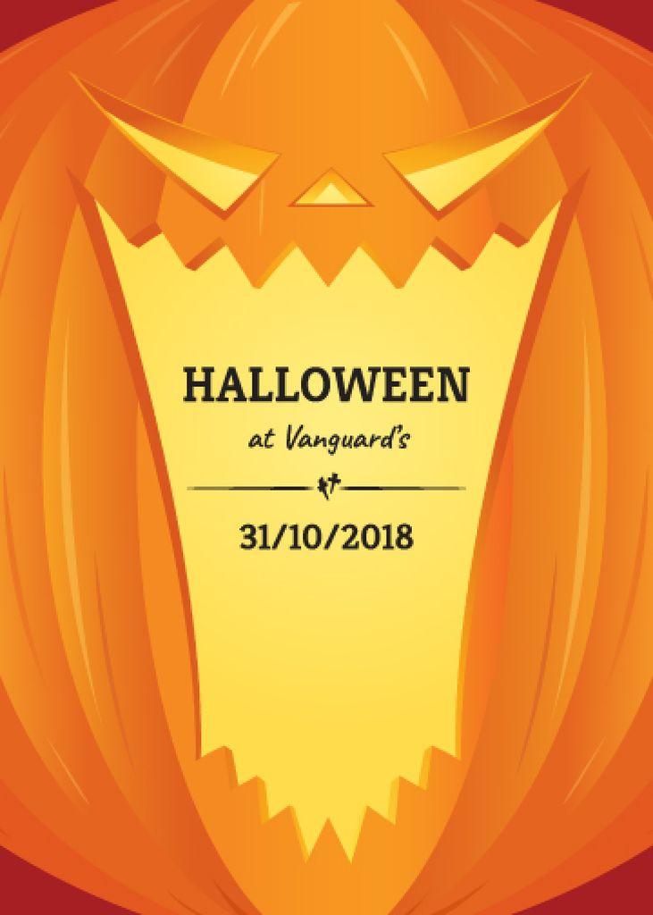 Halloween Celebration Pumpkin Lantern —デザインを作成する