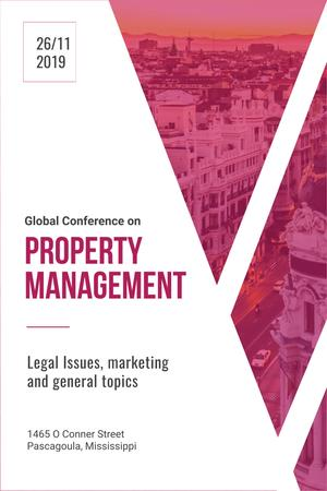 Property management global conference Pinterest Tasarım Şablonu