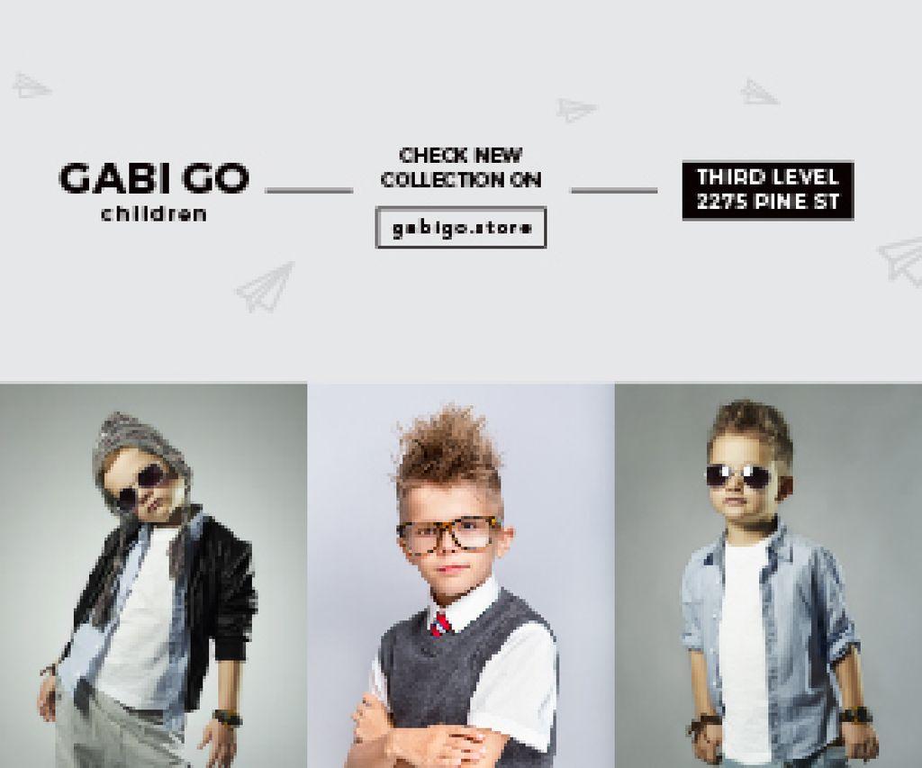 Gabi Go children clothing store — Créer un visuel