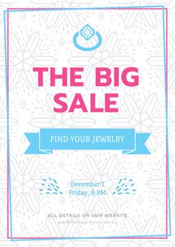 Jewelry big Sale Advertisement