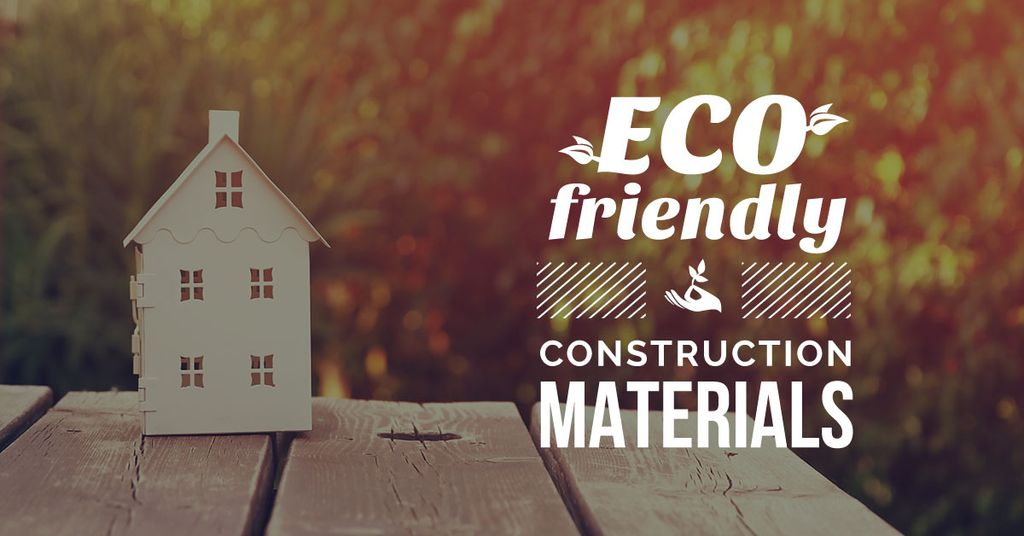 Construction shop with eco friendly materials — Створити дизайн