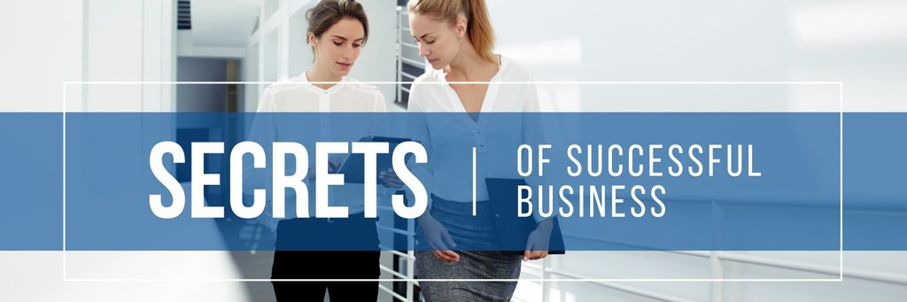 Secrets of successful business poster — Crear un diseño