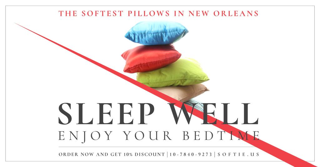 The softest pillows in New Orleans — Crear un diseño