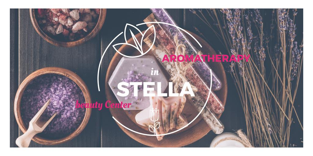 Aromatherapy in Stella beauty center poster — Створити дизайн