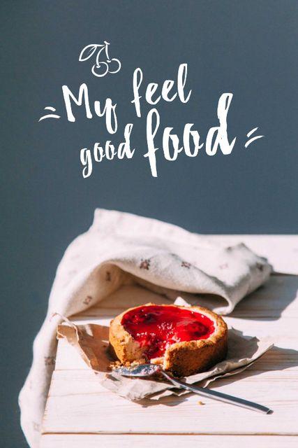 Designvorlage Sweet Berry Pie für Tumblr