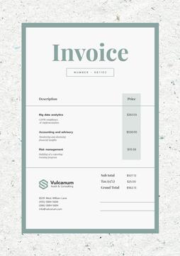 Audit Company Services in Texture Frame