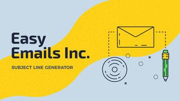 Email Marketing Business File Icon