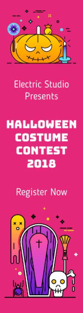 Scary Halloween attributes — ein Design erstellen