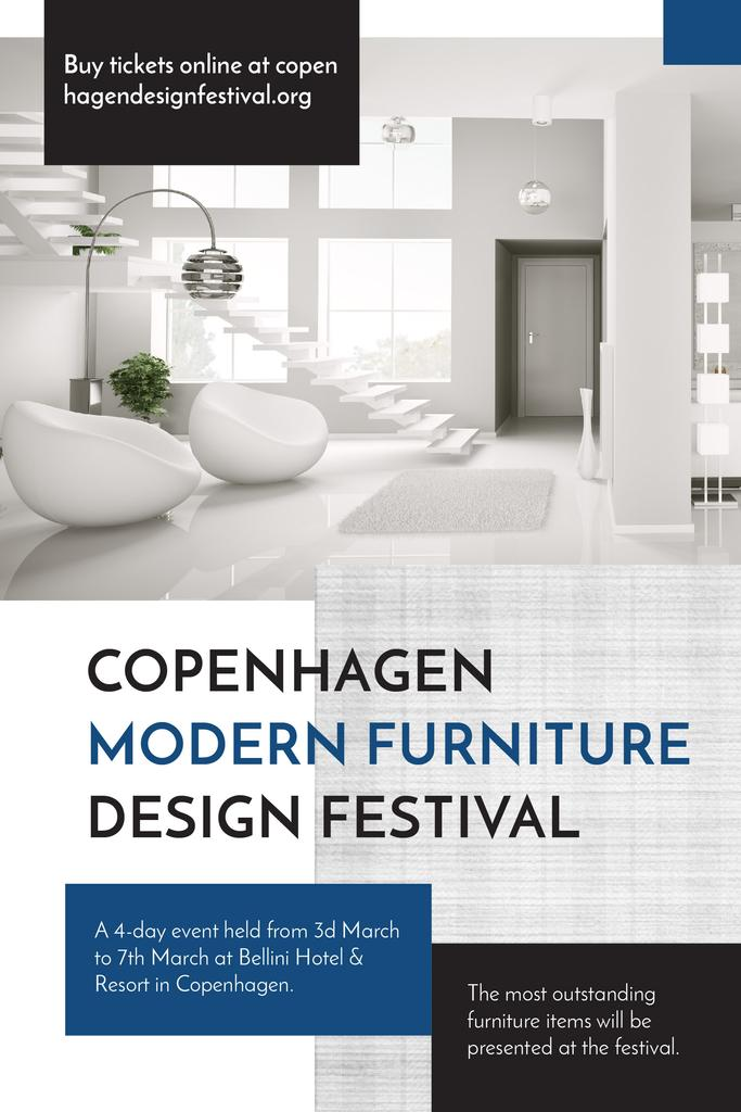 Copenhagen modern furniture design festival — Створити дизайн