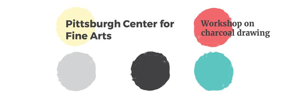 Pittsburgh Center for Fine Arts Twitter Design Template