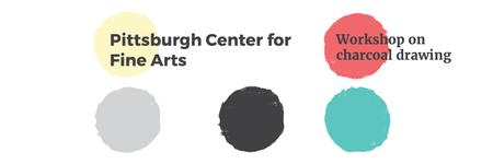 Plantilla de diseño de Pittsburgh Center for Fine Arts Twitter