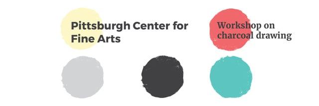 Pittsburgh Center for Fine Arts Twitter Modelo de Design