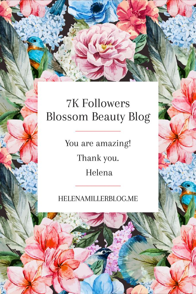 Beauty blog Ad in Blossom — Crea un design