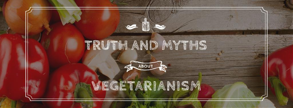 Truth and myths about Vegetarianism — Maak een ontwerp