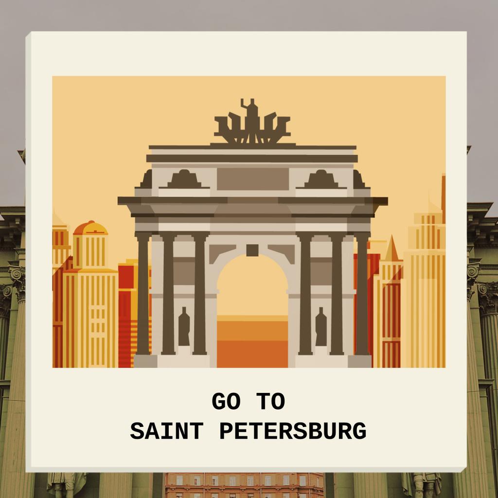 Go To Saint Petersburg — Crear un diseño