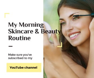 Skincare and beauty youtube channel