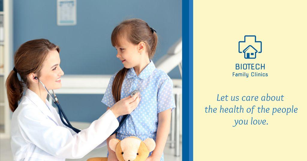 Family clinic advertisement — Maak een ontwerp
