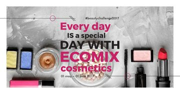 Diverse set of Cosmetic Products