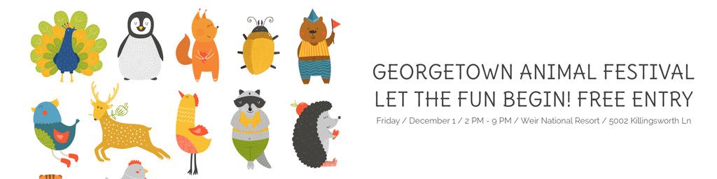 Georgetown Animal Festival — Maak een ontwerp