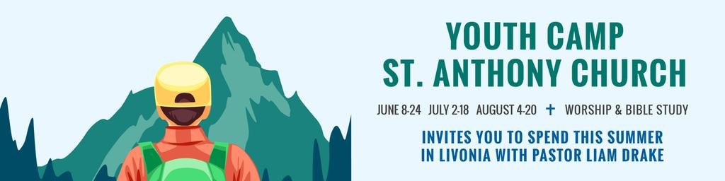 Youth religion camp of St. Anthony Church — Crea un design