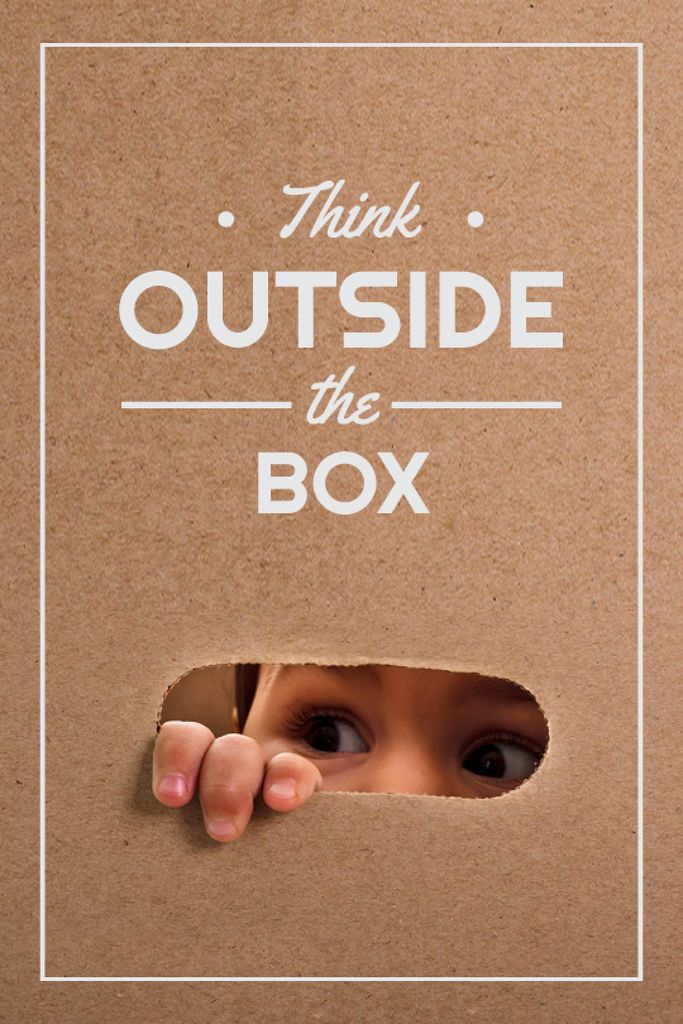 Children Creative Thinking Quote | Tumblr Graphics Template — Maak een ontwerp