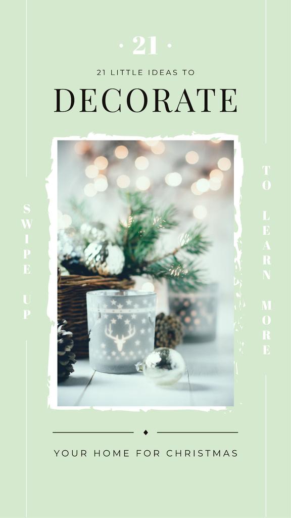 Shiny Christmas decorations — Crear un diseño