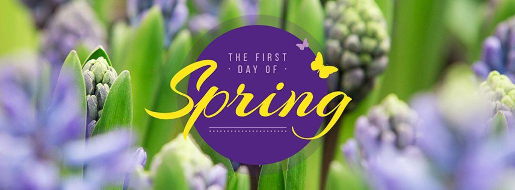 Spring blooming flowers — Maak een ontwerp