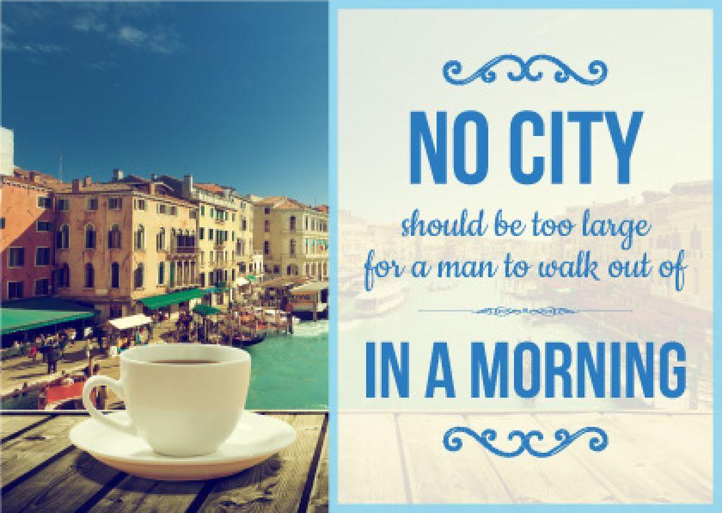 City quote poster — Crea un design