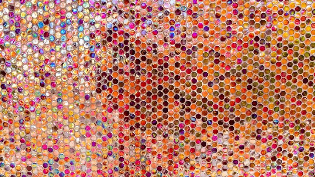 Small multicolored Gradient circles Zoom Background – шаблон для дизайну