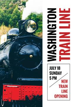 Washington train line opening