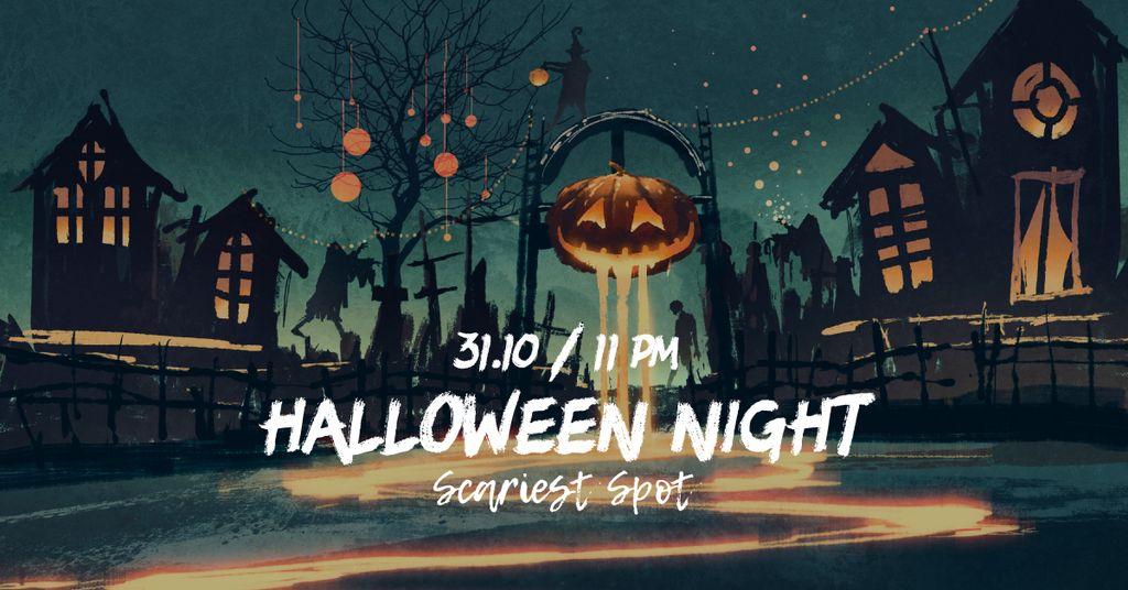 Halloween pumpkin lantern — Maak een ontwerp
