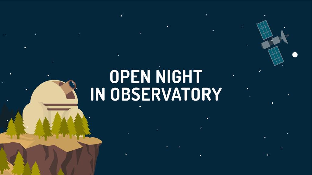 Open night in Observatory — Create a Design