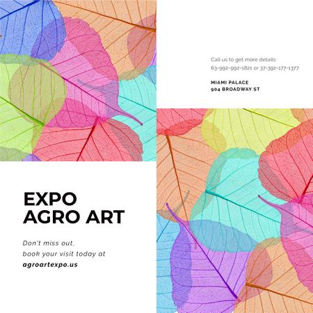 Modèle de visuel Nature Expo Art Invitation - Instagram