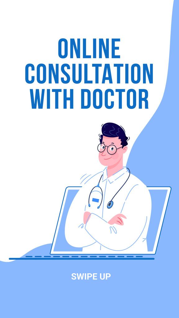 Online Medical Support — Créer un visuel