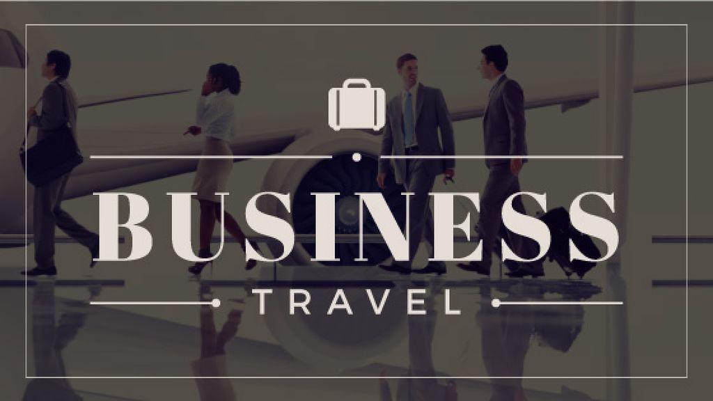 business travel banner — Create a Design