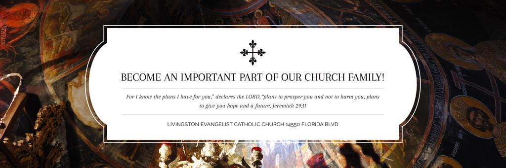 Livingston Evangelist Catholic Church — Create a Design