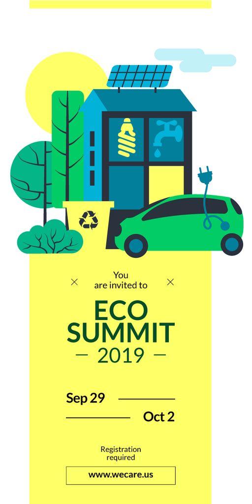 Invitation to eco summit  — Créer un visuel