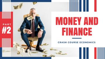 Economics Course Businessman Throwing Money