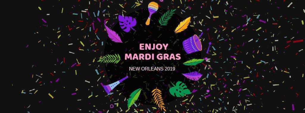 Mardi Gras carnival attributes — Créer un visuel