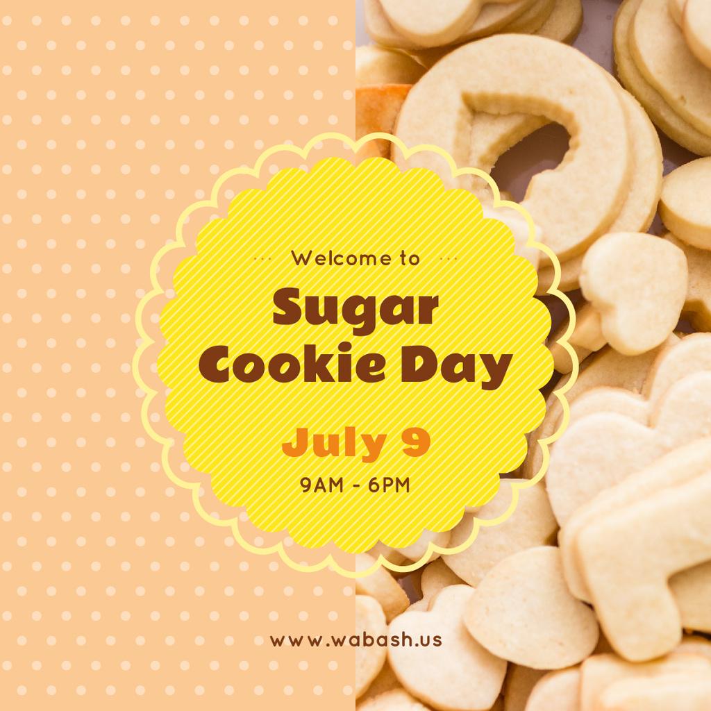 Sugar cookie day — ein Design erstellen