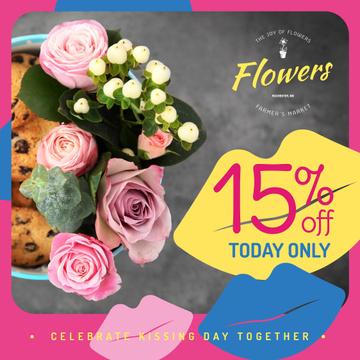 Florist Services Offer Bouquet of Flowers