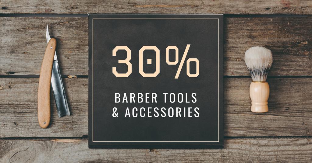 Barbershop Professional Tools Sale —デザインを作成する